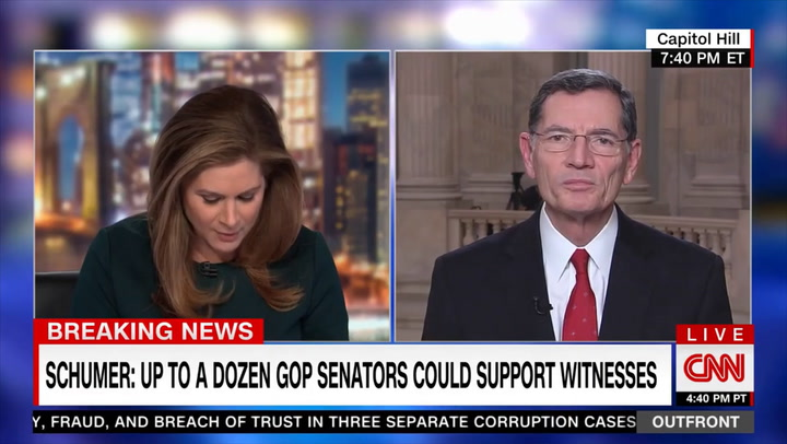 Barrasso: We'll Vote to Move to 'Final Judgment' on Friday - Some Dems Will Vote to Acquit