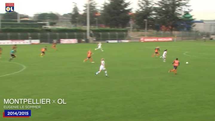 OL Women's top five goals vs Montpellier