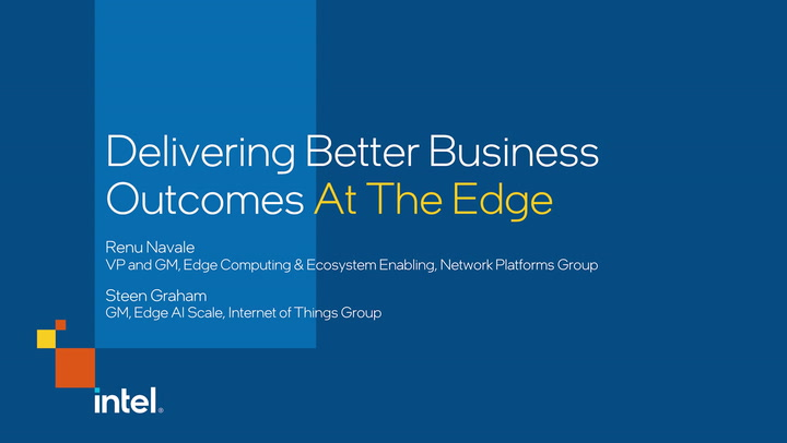 Chapter 1: Delivering Better Business Outcomes At The Edge