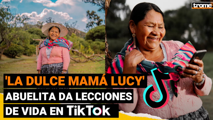 'La dulce mamá Lucy': abuelita 'TikToker' da lecciones de vida a usuarios