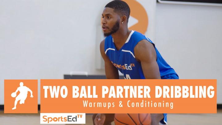 Two Ball Partner Dribbling