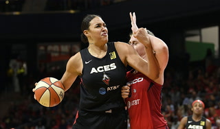 Las Vegas Aces Drop Game 2 to Washington Mystics, 103-91 – Video Highlights
