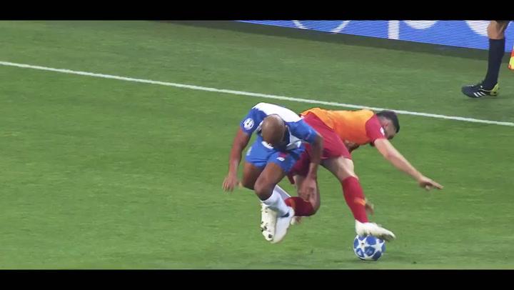 El Porto calienta el partido contra la Roma