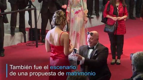 ¡Dijo que sí! El amor se roba el protagonismo en la alfombra roja de Cannes