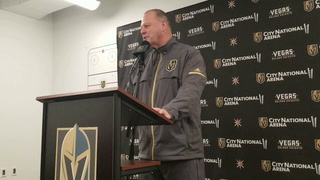 Golden Knights coach Gerard Gallant on newly acquired Ryan Carpenter