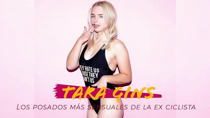 Los posados más sensuales de la ex ciclista Tara Gins
