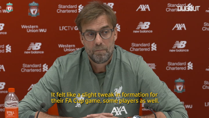 Jürgen Klopp: West Ham United clash will be a 'big fight' for Liverpool