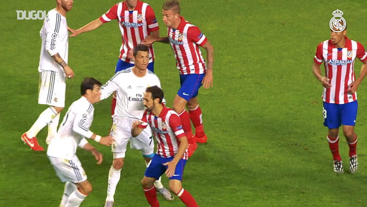 Sergio Ramos and Luka Modrić recall extra-time goal vs Atlético