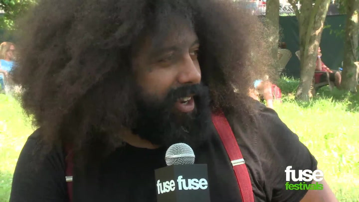 "Reggie Watts Praises Netflix: ""That's My Sh-t!"" at Bonnaroo 2013"