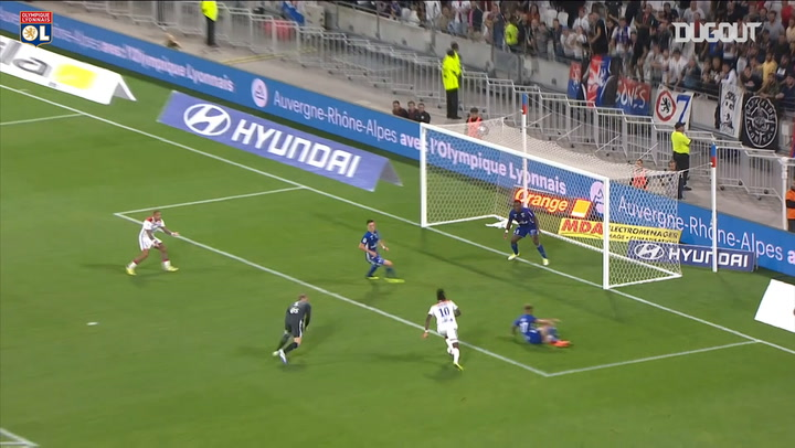 Lyon best goals at home vs Strasbourg