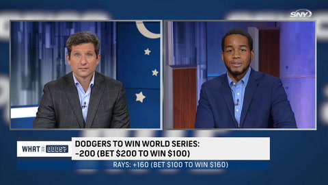 What are the Odds: Which team is the best World Series bet - Dodgers or Rays?