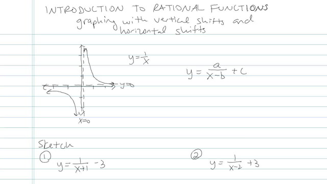 Introduction to Rational Functions  - Problem 4
