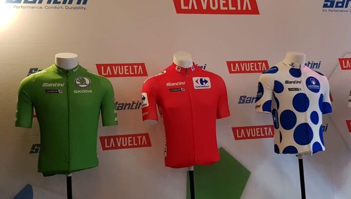 Diseño y tradición en los maillots de la Vuelta 2019