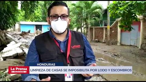 Hasta 900 lempiras por una hora de retroexcavadora pagan vecinos de Chamelecón