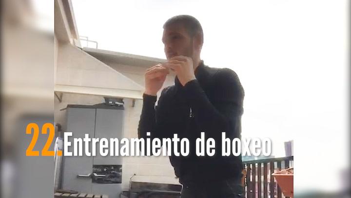 ENTRENA EN CASA (22): Entrenamiento de boxeo