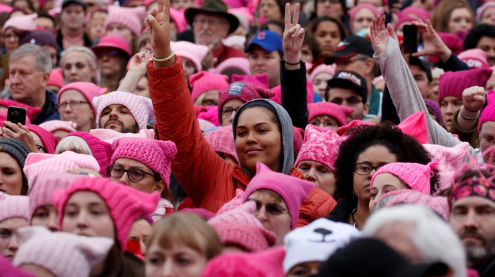 We're Still Thinking About These Women's March 2018 Speeches | A Plus Video