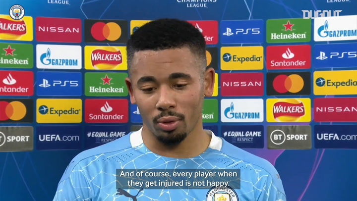 Gabriel Jesus delighted after scoring on return from injury