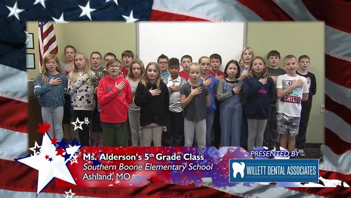 Southern Boone Elementary School - Ms. Anderson - 5th Grade