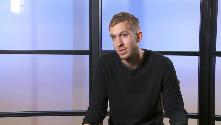 Calvin Harris On Linking Up with Rihanna for We Found Love: #TBT