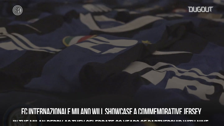 Inter And Nike's 20 Year Special Shirt
