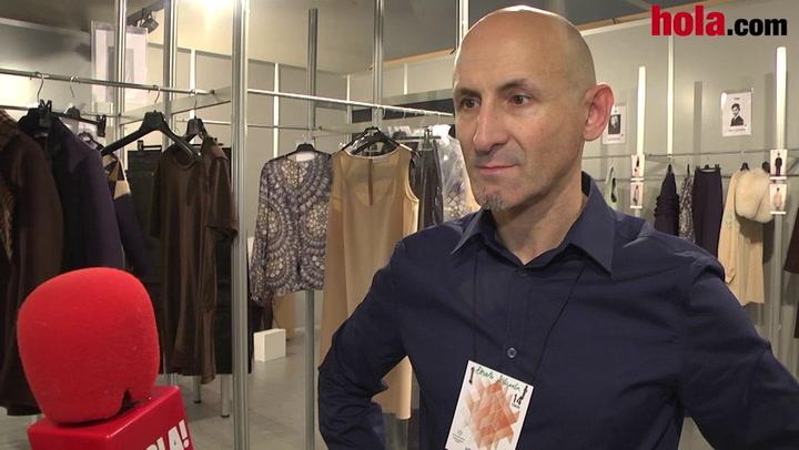 Modesto Lomba: 'Hemos hecho una colección muy rica en artesanía, buscando volúmenes y estructuras nuevas'