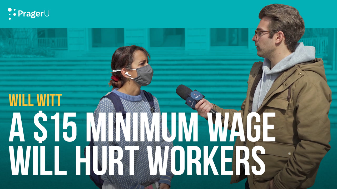 A $15 Minimum Wage Will Hurt Workers