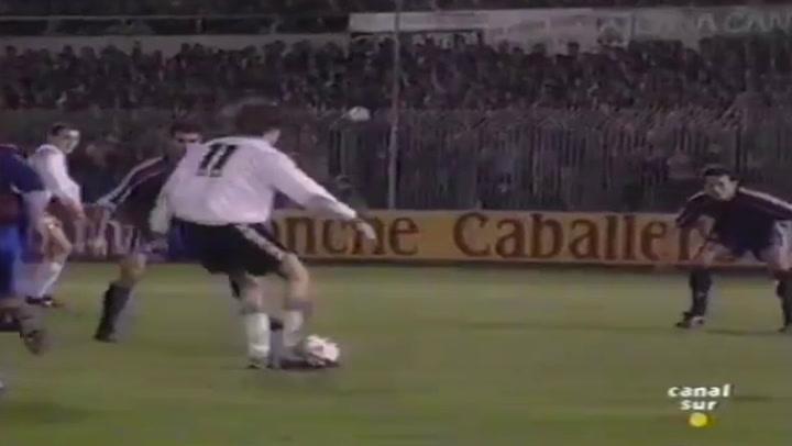25 años de la 'manita' del Racing de Setién al Barça
