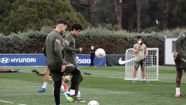 El Atlético de Madrid prepara el choque contra el Villarreal