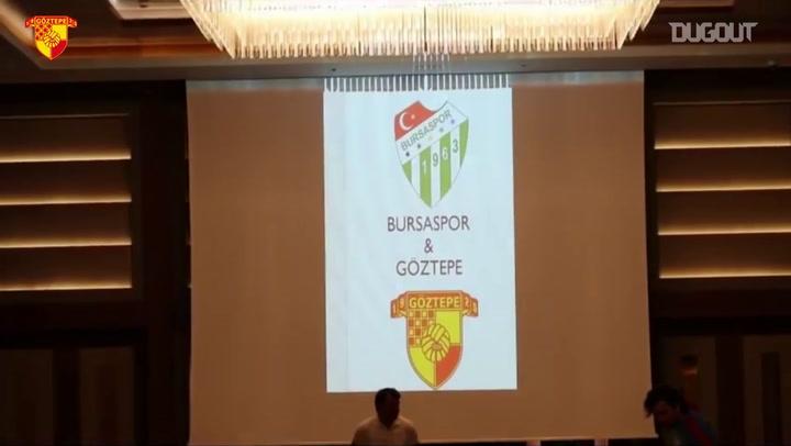 Göztepe'de duygusal maç toplantısı