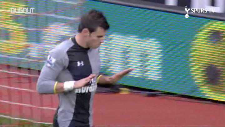 Gareth Bale's Goals Against Southampton
