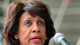 'Cleaning out the White House': Is this how Maxine Waters gives a eulogy?