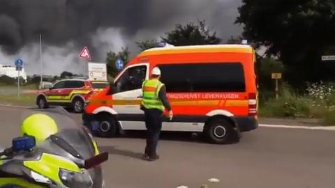Al menos 16 heridos y cuatro desaparecidos en Leverkusen tras explosión