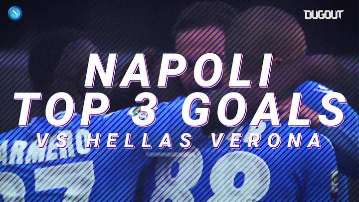 Napoli's top three Serie A goals in Verona