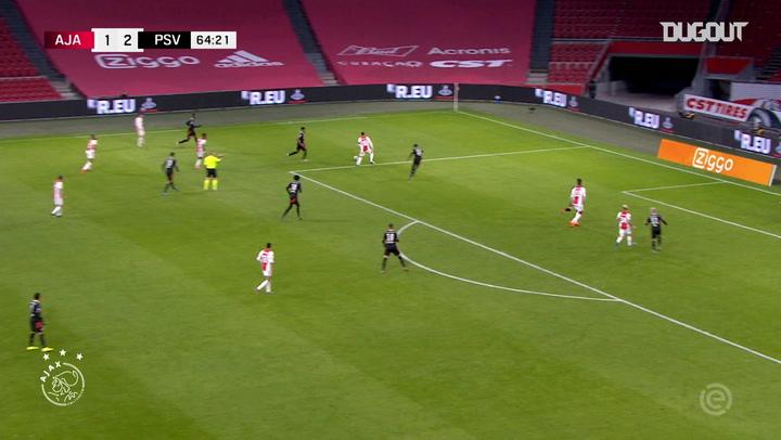 Haller sets up Antony on Ajax debut vs PSV