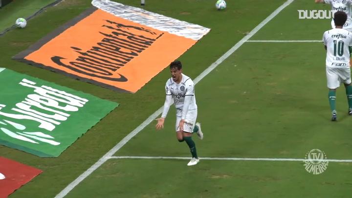 Gustavo Gómez's header secures Palmeiras win vs Grêmio