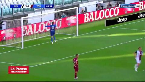 Golazo de tiro libre de Cristiano Ronaldo