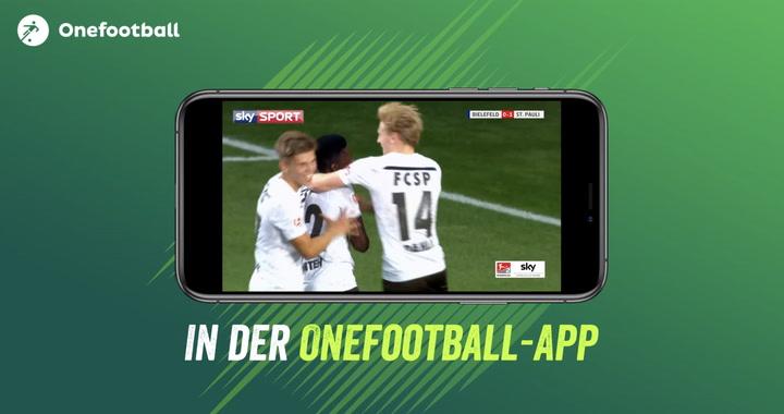 Alle Zweitliga-Spiele im Livestream: Sky und Onefootball machen es möglich