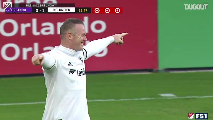 Incredible Goals: Wayne Rooney Vs Orlando City