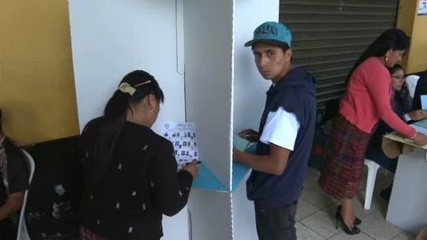 Comienza votación en Guatemala para elegir nuevo presidente