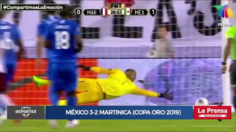 Video: México 3-2 Martinica (Copa Oro 2019)