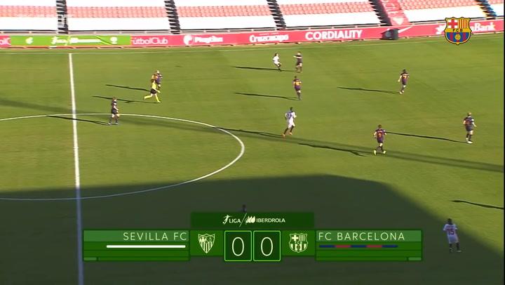 Highlights: Sevilla FC Femenino 0-2 FC Barcelona Femení