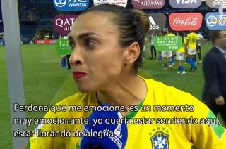 El mensaje de Marta que emociona a todo el mundo: ''Lloren al inicio para sonreír al final''