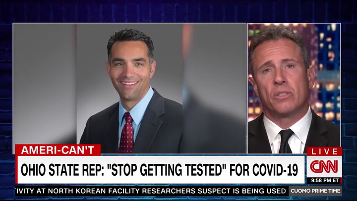 CNN's Cuomo Mocks Anti-Maskers: 'Can't Wear a Mask, You Don't See One on Jesus'