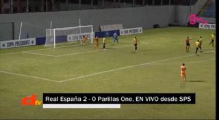 ¡GOOOOL DEL PARRILLAS! Descuentan los visitantes, Real España 2-1 Parillas One.