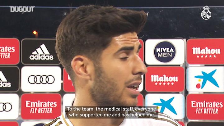 Marco Asensio's dream comeback