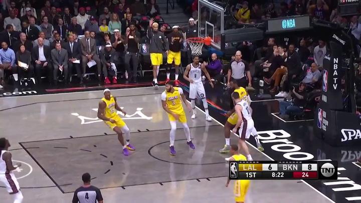 LeBron James (Lakers), el más destacado de la jornada de la NBA del 23 de enero 2020