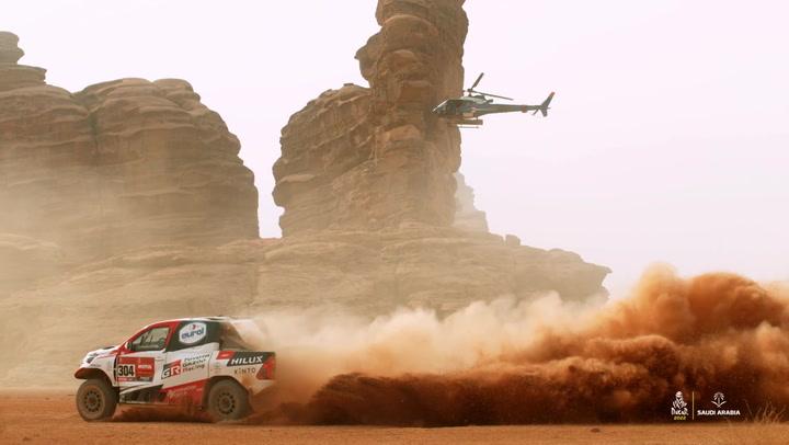 El espectacular teaser del Dakar 2022