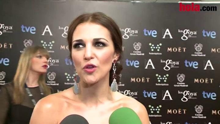 Paula Echevaría: \'Me ha encantado trabajar con Miguel Ángel Silvestre\'
