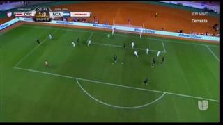 ¡Costa Rica está venciendo a Nicaragua con gol de Bryan Oviedo!