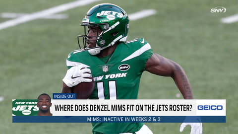 Saquon Barkley looking good, Jets Week 5 offensive keys, and Denzel Mims' fit